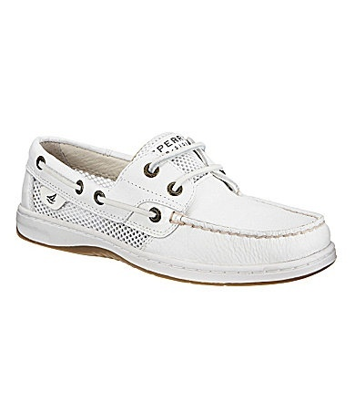 I want white sperrys sooo bad!