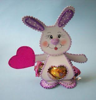 Manualidades Luna Clara: Animalitos en foamy lindos para regalar (con moldes)