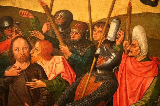 Gaspar Isenmann. La traición de Judas.