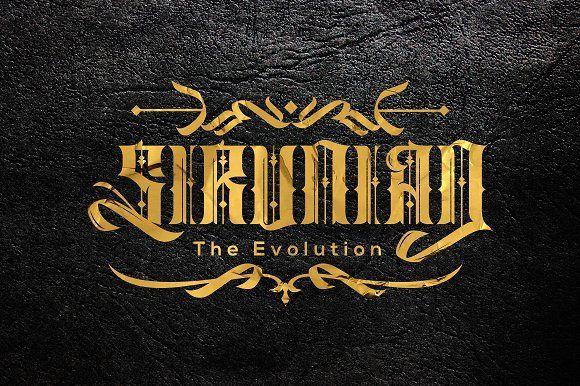 Sirunian by Arterfak Project on @creativemarket