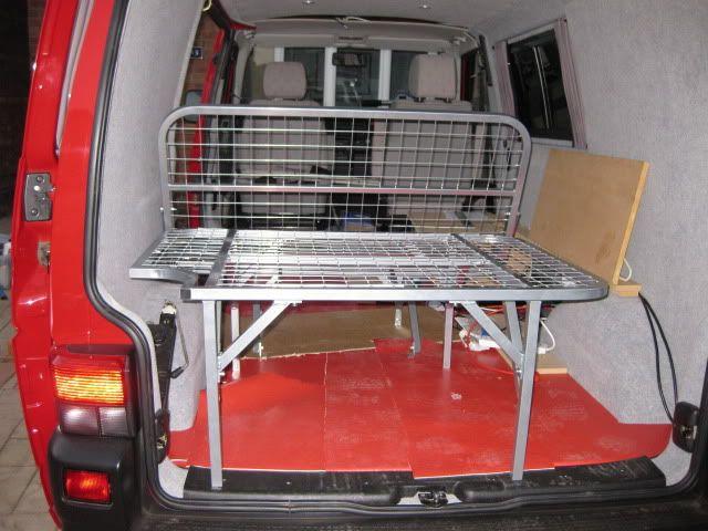 My Van Conversion SWB Garage All Versions
