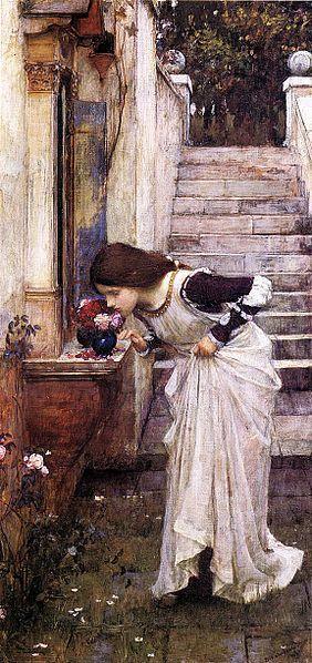 John William Waterhouse: The Shrine - 1895