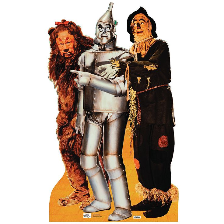 Lion, Tinman & Scarecrow - Wizard Of Oz Stand-Up - OrientalTrading.com