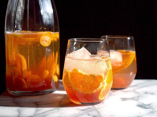 Sparkling and Spiced Citrus Sangria | Recipe | Sangria, Shrubs and ...