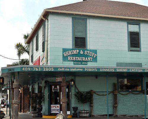Shrimp & Stuff, Galveston, Texas. Shrimp tacos are my personal fave ;)
