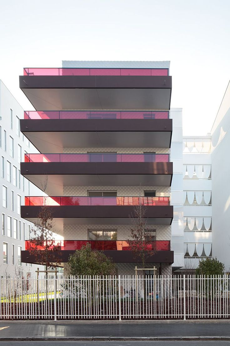 ecdm architectes thiers street housing building . boulogne-billancourt