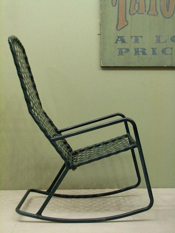 Brown Jordan Patio Furniture   Vintage Rocking Chair