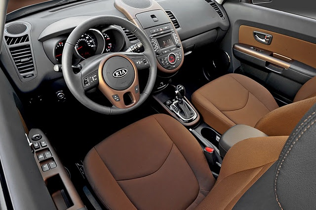 Kia has come a long way. Beautiful interior