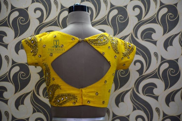 Teja sarees embroidery blouse c