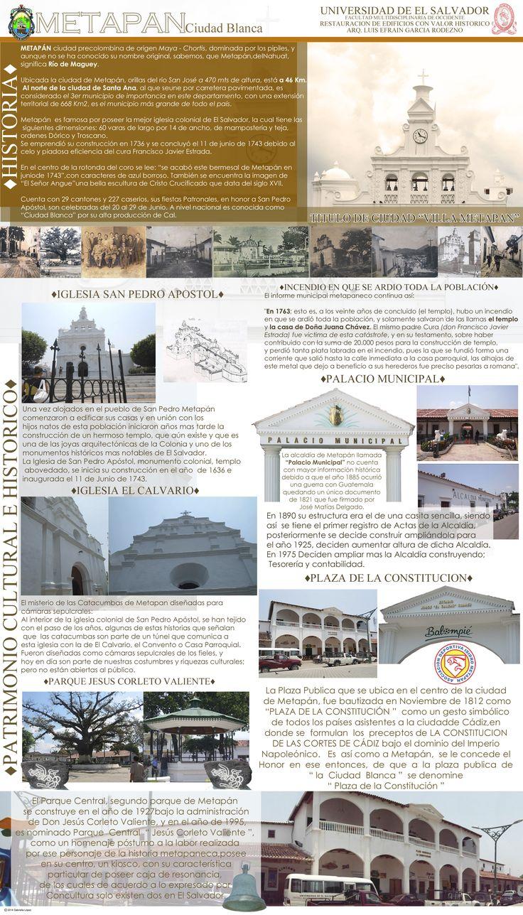 Metapan. Restauracion de Edificios con Valor Historico