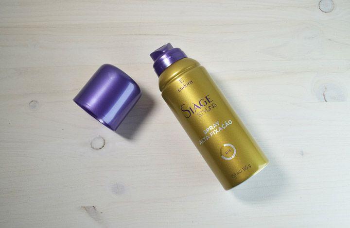 Siàge Styling Spray de Alta Fixação Eudora