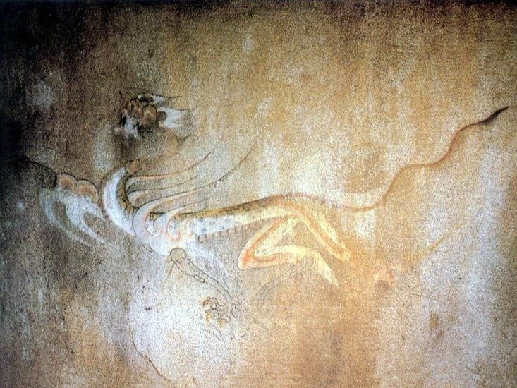 백호-강서대묘 사신도