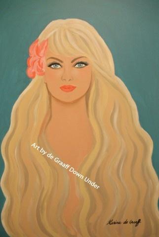 Blonde Goddess by Karina de Graaff