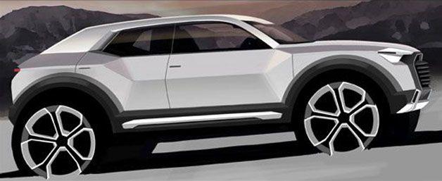 New Audi Q1 to crossover concept | Autoblog