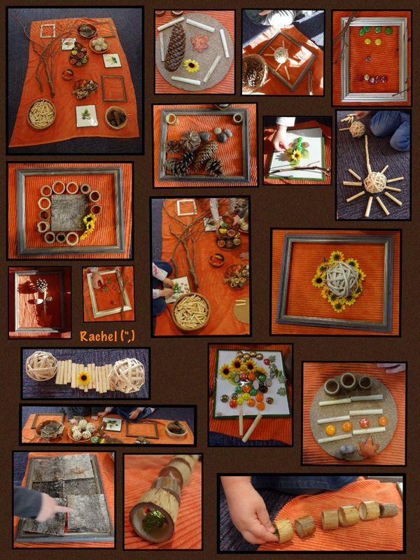 "Autumn inspired transient art from Rachel ("",)"