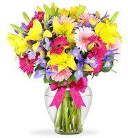 Arreglo de 6 Rosas Rosa en Zapopan, Ramo de flores, arreglos de flores, enviar flores, flores a domicilio