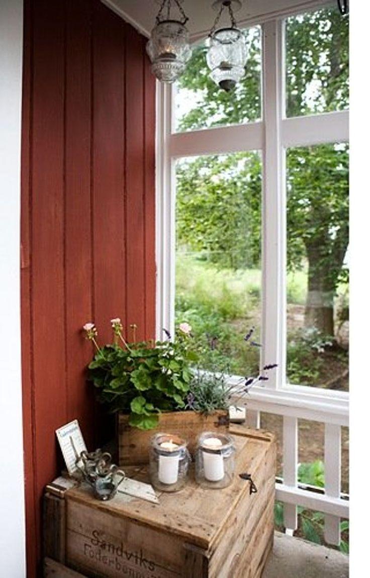 Stemningsfull veranda