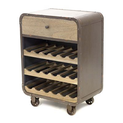 Shop Gild Design House Silas Wine Rack At Lowes Canada Find Our Selection Of Home Bar Furniture Designs Liquor Cabinets The Lowest Price Guaranteed