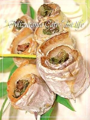 ●太刀魚の梅肉巻きの串焼き●シンプル美味しい❤ レシピ・作り方 by +ミズタマ+ 楽天レシピ