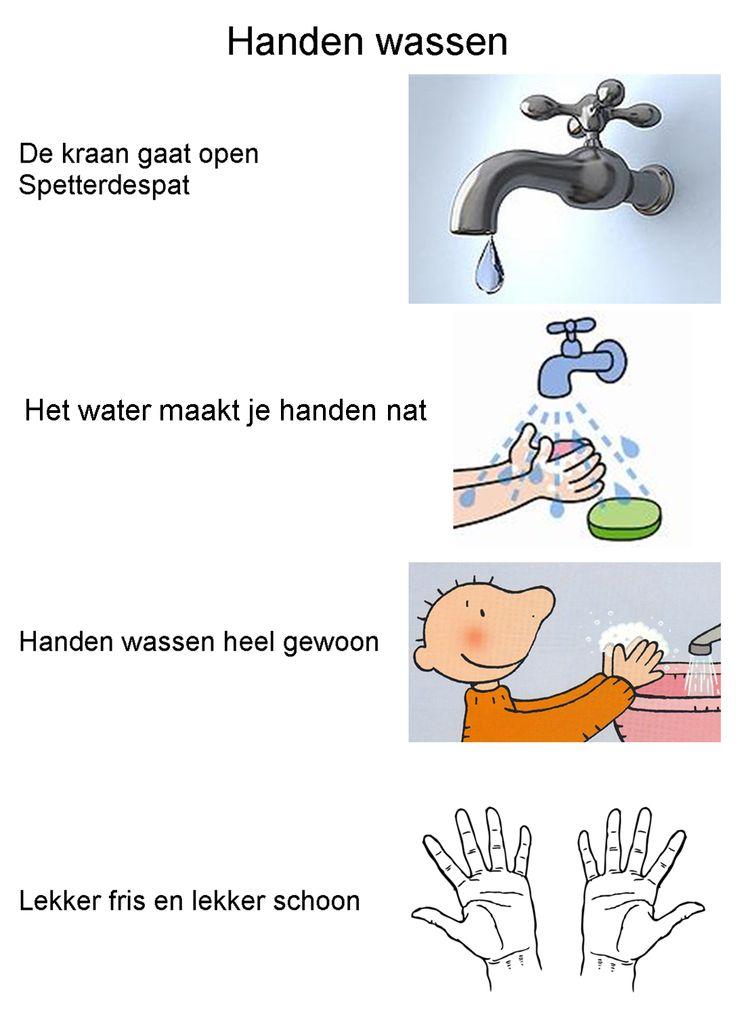 versje: handen wassen