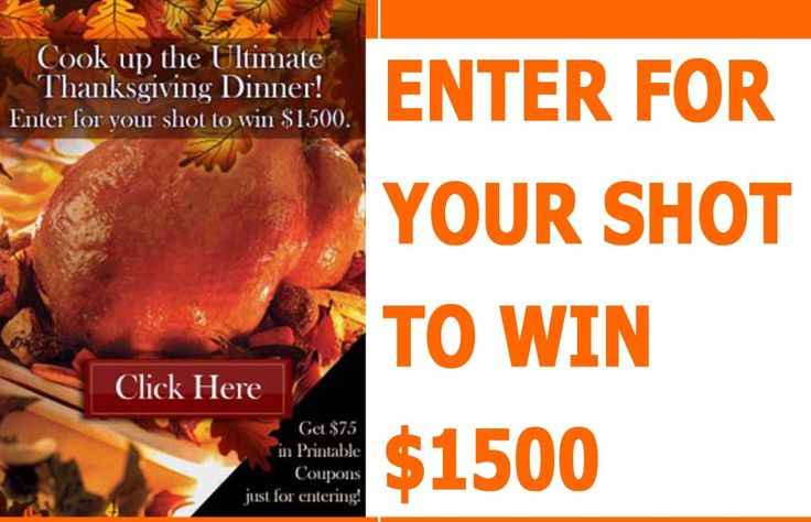 Enter for your shot to win $1500!