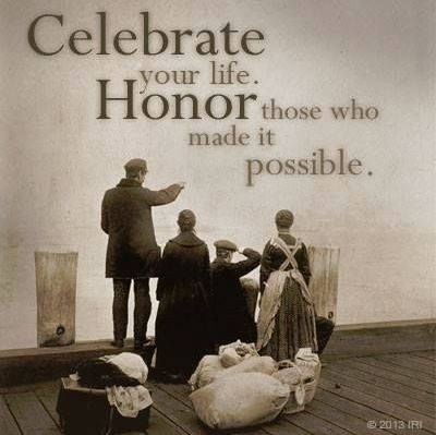 """Quotes: """"Celebrate your life. Honor those who made it possible."""" #genealogy #quotes"""