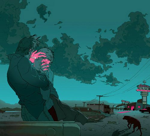 Tomer Hanuka - BOOOOOOOM! - CREATE * INSPIRE * COMMUNITY * ART * DESIGN * MUSIC * FILM * PHOTO * PROJECTS