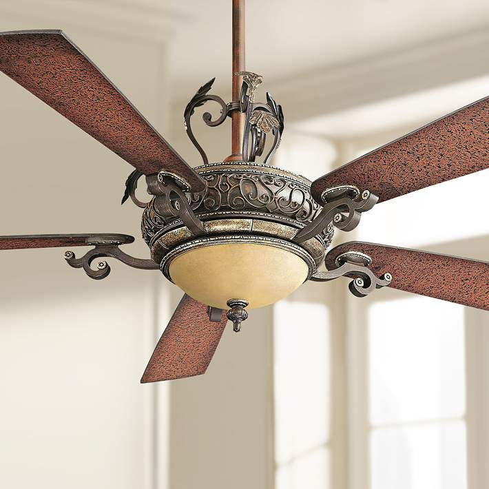 "56"" Minka Aire Napoli Walnut Finish Ceiling Fan - #96042 
