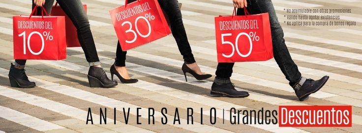 #BOSI está de Aniversario #GrandesDescuentos 10% 30% y hasta 50% / Alamedas CC #Piensaenti