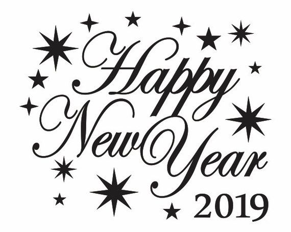 Happy New Year Clipart 2019 For You Happy New Year Images New Year Clipart Clip Art