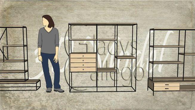 display partition racks - 3D Warehouse