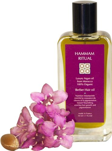 In an effort to develop an intensely nutritious and environmentally friendly hair care product, Hammam Ritual has discovered a sensational formula combining a veritable bouquet of plants and herbs with the exceptional richness of argan oil. We have developed an intricate recipe for the ultimate all-round hair care product. Berber Argan Oil is an extraordinary hair care product with a subtle perfume, to replenish even the most damaged hair with strength, vigour and shine.
