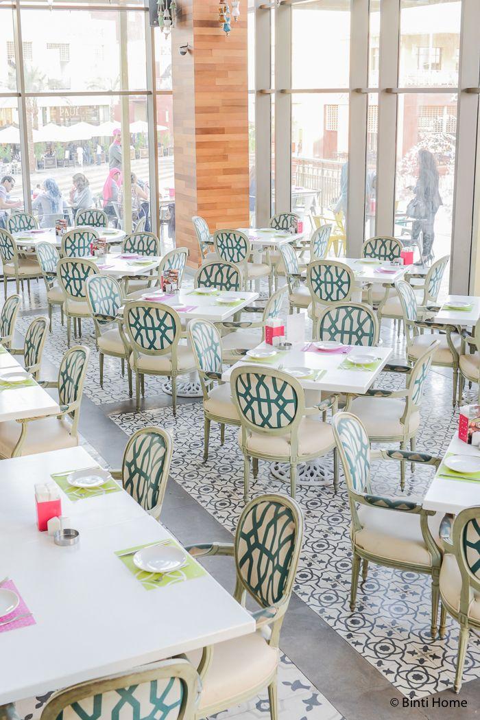 Modern arabic interior at tamara lebanese bistro cairo for Arabesque lebanon cuisine