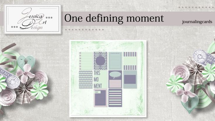 One defining moment journalingcards by Jessica art-design