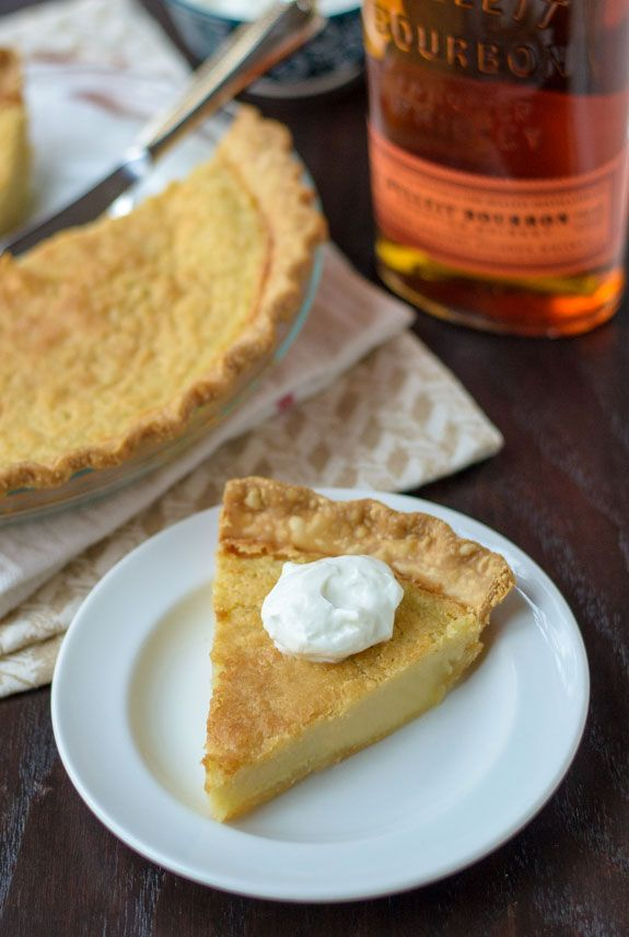 Bourbon Buttermilk Pie - Finish off your next dinner party with this delectable dish that's sure to be a hit.