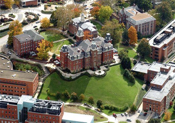 West Virginia University Campus | Campus of West Virginia University (photo courtesy of Visual ...