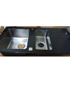 50x100 cm  Cam Evye  Siyah