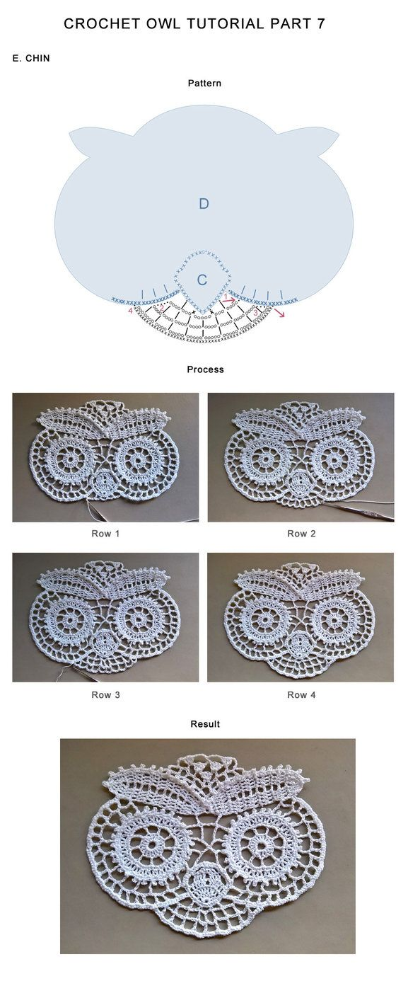 Pattern for my crochet owls tasamajamarina.deviantart.com/… Update: I created step-by-step tutorial for this crochet owl. It comprises of 12 parts. Here is the listing for all of them. Part ...