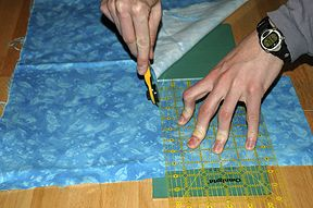 Tutorial on flannel rag quilt~~~~so easy and gets softer and softer with each washing!