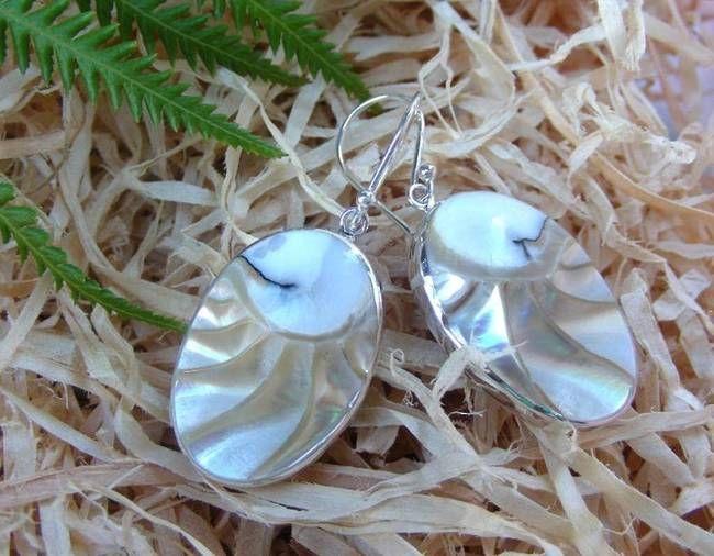 Silver Shell Earrings | Dare to Shine!