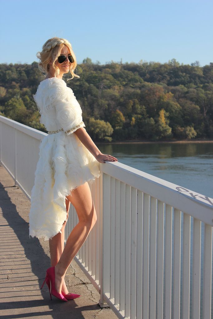 The perfect dress for a wedding..!