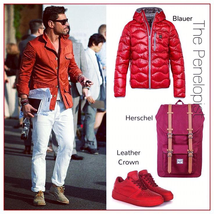 50 sfumature di rosso: fate spazio nel guardaroba a questa brillante tonalità, capace di dare un tocco moderno e di impatto a qualsiasi look! #Penelope47 #ThePenelopist #menstyle  #Blauer >> http://ow.ly/TkrVp  #LeatherCrown >> http://ow.ly/TkrXo  #Herschel >> http://ow.ly/Tks06  #herschelsupply #Sneakers #sneakerhead #mood #style #Fashion #menswear #EnjoyTheStyle #LOTD #lookoftheday #photooftheday