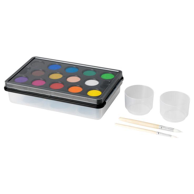 MÅLA Watercolor box - IKEA