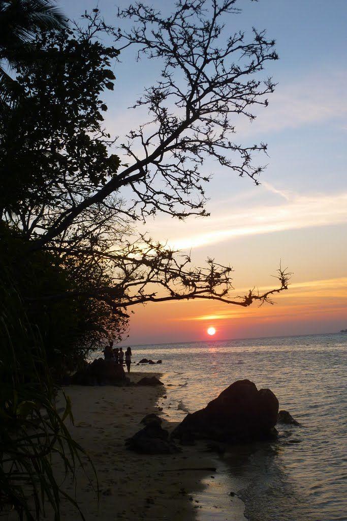 Sunset at Karimun Jawa Island