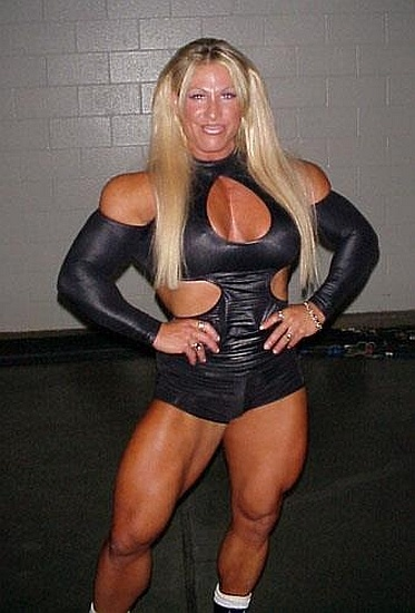 Fitness Women Wrestling | Bodybuilder, Wcw wrestlers and Wolves