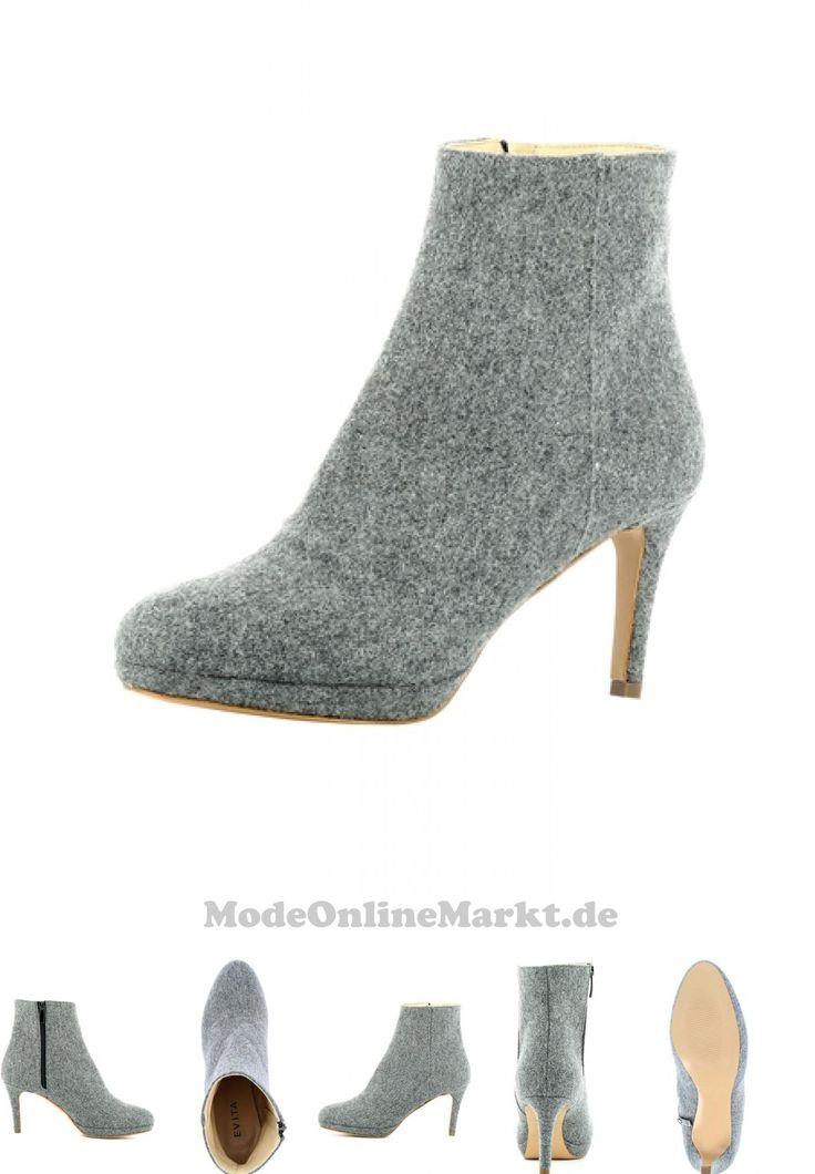 04251296807255 | #Evita #Shoes #Damen #Damen #Stiefelette #grau