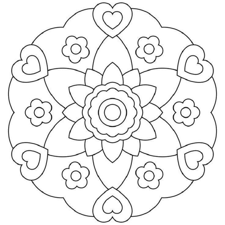Mandalas Fur Kinder Die Vorteile Des Zeichnens Und Malens Cheats Besten Ideen 2019 Besten Cheats Ausmalbilder Weihnachtsmalvorlagen Einfaches Mandala