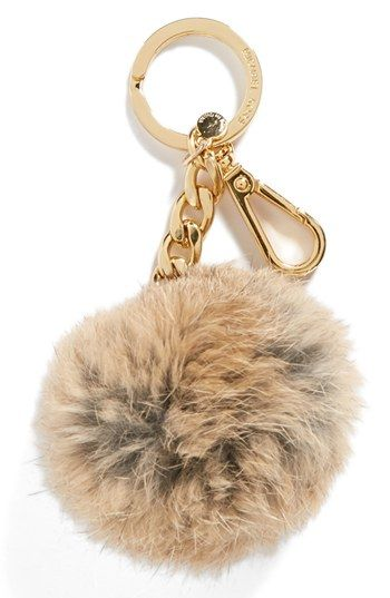 Michael Kors Genuine Fox Fur Key Fob #gift $38  Get a discount: http://stackdealz.com/deals/Nordstrom-Coupon-Codes-and-Discounts--/