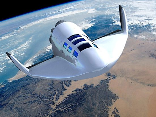Dassault Aviation's suborbital spacecraft for pricey out-of-this-world trips