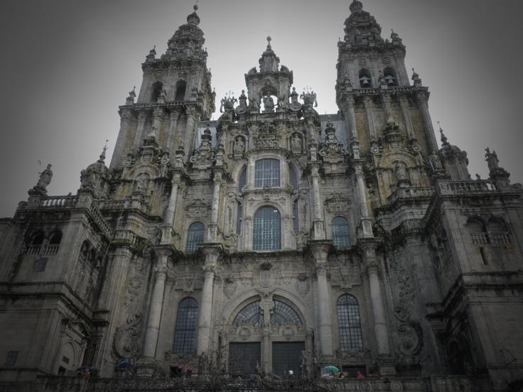 The Cathedral, Santiago de Compostela, Spain